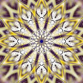 Michael African Visions - Purple and Yellow Flame