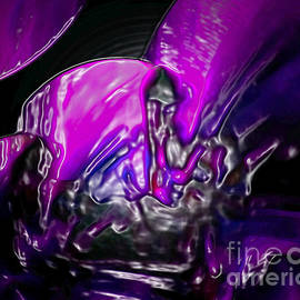 Gayle Price Thomas - Purple Art Abstract