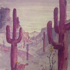 BD Nowlin - Purple Desert