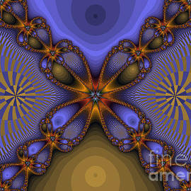 Darleen Stry - Purple  Flower Fractal