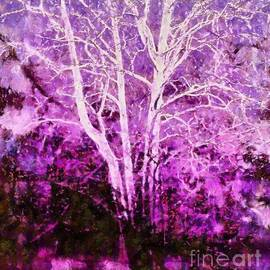 Janine Riley - Purple Forest Fantasy