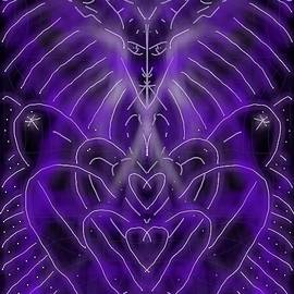Michael African Visions - Purple Hearts