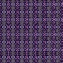 Tracey Harrington-Simpson - Purple Iris Abstract Pattern