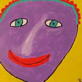 Ronald Weatherford - Purple Lady # 4