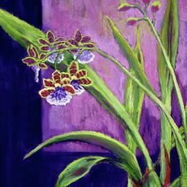Nancy Jolley - Purple Orchids
