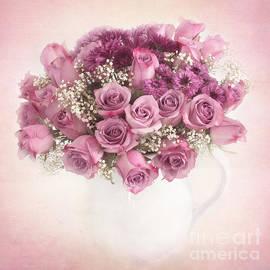 Carolyn Rauh - Purple Rose Bouquet