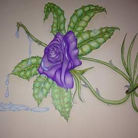 Kathy Allen - Purple Rose
