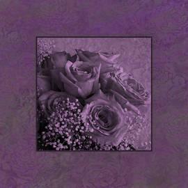 Sandra Foster - Purple Roses Delight