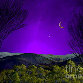 Carol Jacobs - Purple Sky