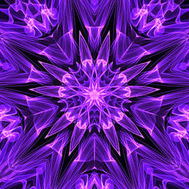 Bruce Nutting - Purple Star of Flames