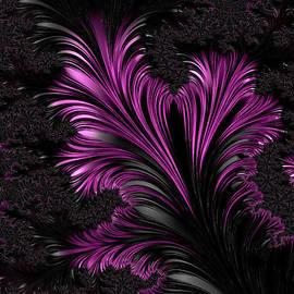Ann Garrett - Purple Twist  - A Fractal Abstract