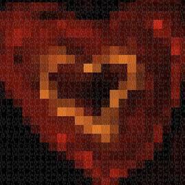 Dana G - Puzzle heart