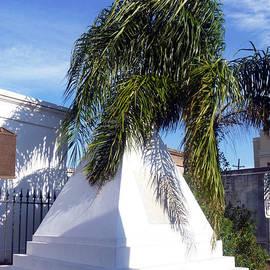 Alys Caviness-Gober - Pyramid Tomb with Palm Tree