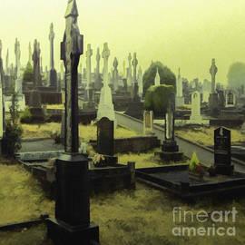 Jean OKeeffe Macro Abundance Art - Quiet Ashes
