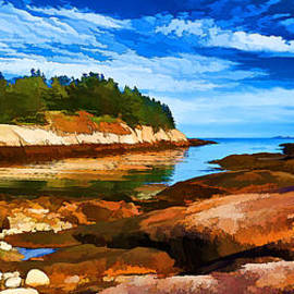 Bill Caldwell -        ABeautifulSky Photography - Quiet Cove at Great Wass - Painterly
