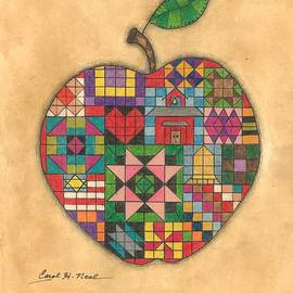 Carol Neal - Quilted Apple