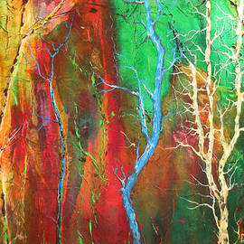 Dan  Whittemore - Quinacridone Trees