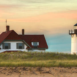 Brian Caldwell - Race Point Light at Sunset