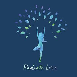 Radiate Love Tree - Fine Art