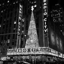 Miriam Danar - Radio City Christmas Tree Black and White