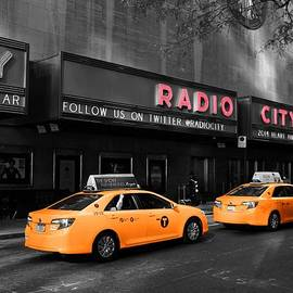 Dan Sproul - Radio City Music Hall And Taxis In New York City