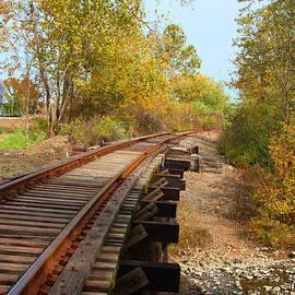 John Lautermilch - Railroad Bridge at Creve Coeur