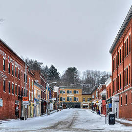 Geoffrey Coelho - Railroad Street -Great Barrington