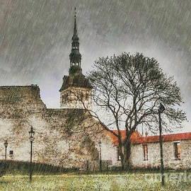 Yury Bashkin - Rain and castle