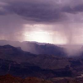 Keith Stokes - Rain in the Grand Canyon