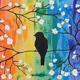 JoNeL Art  - Rainbow Bird