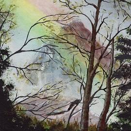 K Alan Jarrett - Rainbow mountain