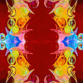 Omaste Witkowski - Rainbow Reminders of Life Abstract Pattern Artwork by Omaste Wit