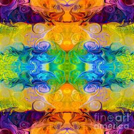 Omaste Witkowski - Rainbow Revolution Abstract Pattern Artwork by Omaste Witkowski