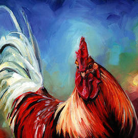 Kristy Tracy - Rainbow Rooster