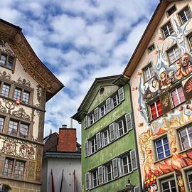 Carol Japp - Rainbow Corner  Lucerne