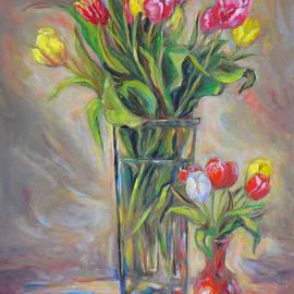 Brenda Brannon - Rainbow Tulips