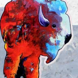 Joe  Triano - Rainbow Warrior Bison