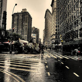 David Bearden - Raining on Flatiron