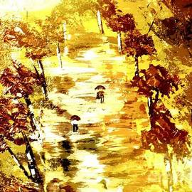 Denise Tomasura - Rainy Autumn Trail