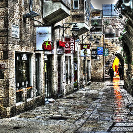 Michael Braham - Rainy Day in Jerusalem