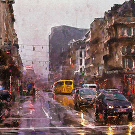 Marian Voicu - Rainy Day Traffic