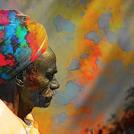 Sue Jacobi - Rajasthani Farmer Rural Indian Turban