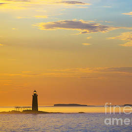 Diane Diederich - Ram Island Lighthouse Casco Bay Maine