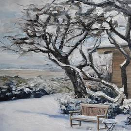 Lori Pittenger - Ranch Bench in Winter