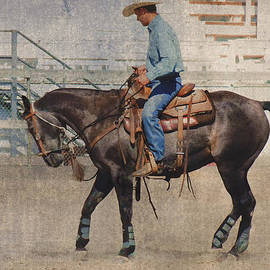 Kae Cheatham - Ranch Horse being Schooled