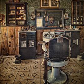 Priscilla Burgers - Randsburg Barber Shop Interior