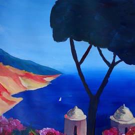 M Bleichner - Ravello Salerno Italy View of Amalfi Coast from Villa Rufolo