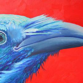 Ana Maria Edulescu - Raven Portrait