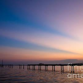 Joan McCool - Rays Over Biloxi Bay