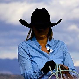 Barbara Zahno - Ready for Roping